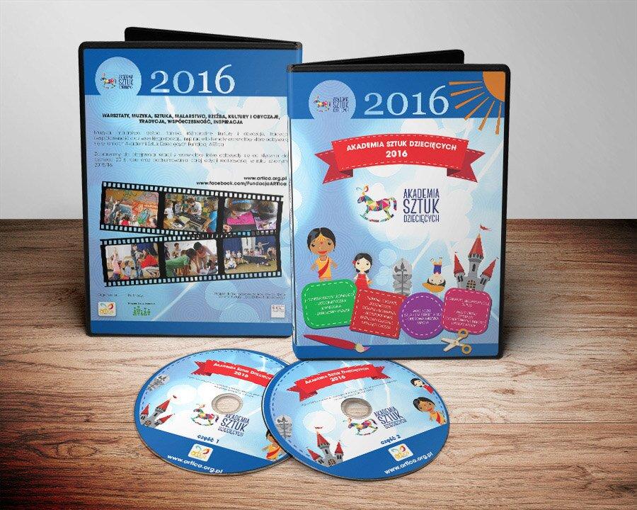 Akademia Sztuk Dziecięcych płyta DVD