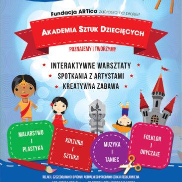 Akademia Sztuk Dziecięcych – nowa edycja w Zabierzowie