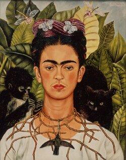 Tajemnice i symbole portretowej Fridy Kahlo- warsztaty- Kraków 1.12.2017